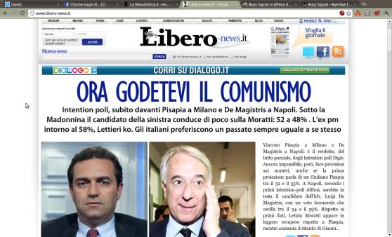 homepage Libero